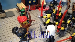 Lego Ninjago S.O.G. Attack Stop Motion! 100 Sub Special!
