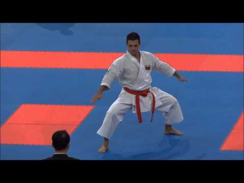 Kata SEIENCHIN by Antonio Diaz - 21st WKF World Karate Championships
