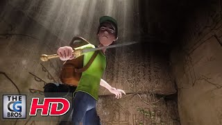 "CGI 3D Animated Short Film : ""Ruins"" - by Daniel Ueno 