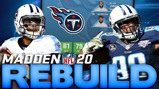 3 Straight Super Bowl Appearances! Rebuilding The Tennessee Titans! Madden 20 Franchise Rebuild