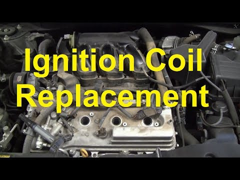 how to replace an ignition coil on a 2007 toyota camry v6 youtube ford f350 wiring diagram ford f350 wiring diagram