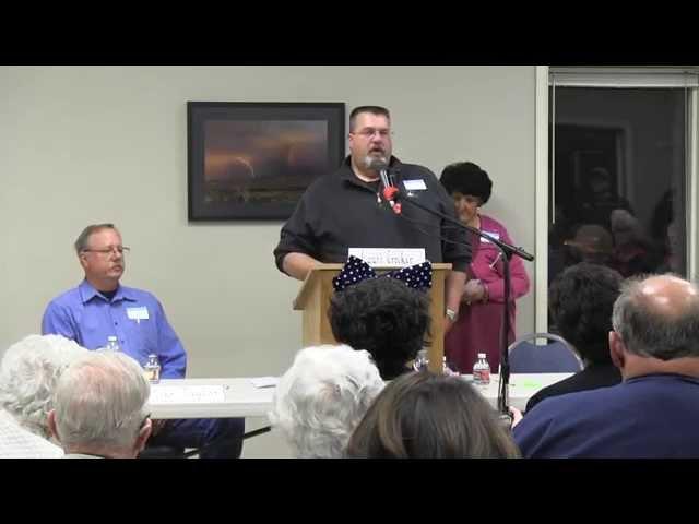 Political Forum held at Senior Center 10-15-2014