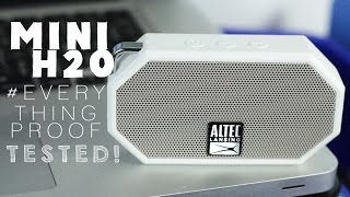 MINI H2O by ALTEC LANSING (EVERYTHING PROOF TESTED!)