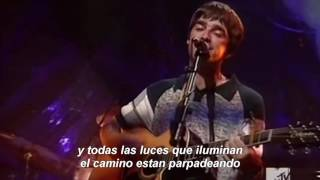 Oasis Wonderwall Unplugged Español