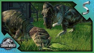 NEW PENS/DINOS! CERATOSAURUS VS METRIACANTHOSAURUS! - Jurassic World Evolution [Gameplay E9]