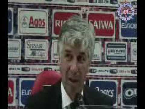 Gian Piero Gasperini al Derby