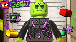 LEGO DC Super villains #106 DARKSEID OF THE MOON 100% MINIKITS GRAFITE PERSONAGEM E BLOCO VERMELHO