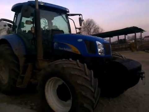 New Holland T6080 & Bossini 3 Assi
