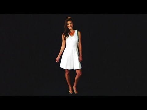 How To Wear a Little White Dress | Summer Fashion | Currently Trending