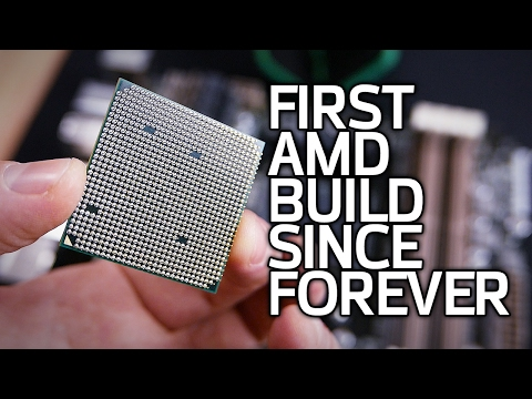 Building an AMD Test Bed with Random Parts from My Garage
