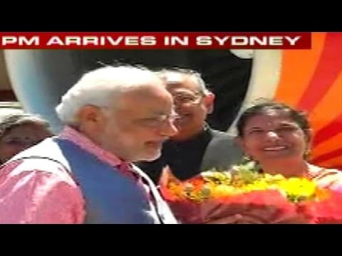 Stage set for Narendra Modi in Sydney