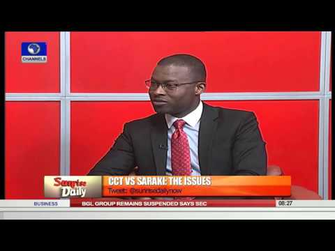 Sunrise Daily Democracy Is About Following The Rule Of Law -Omatseye  Pt 2  22/09/15