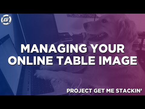Managing your Table Image Online | Poker Tips
