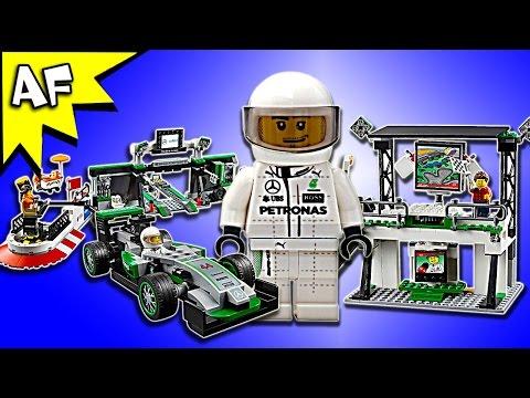 Lego Speed Champions MERCEDES AMG Petronas Formula One Team 75883 Speed Build