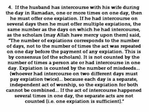 Had-117 -- The Expiation For Sexual Intercourse During The Days Of Ramadan - Hadithaday.org video