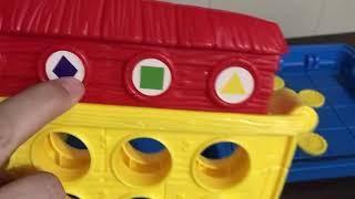 Fisher-Price Animal 2X2 Board Game for Preschool Speech & Language - great for The SLP - SLPA -
