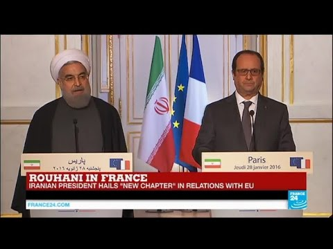 REPLAY - Watch Hassan Rouhani's joint press conference with François Hollande in Paris