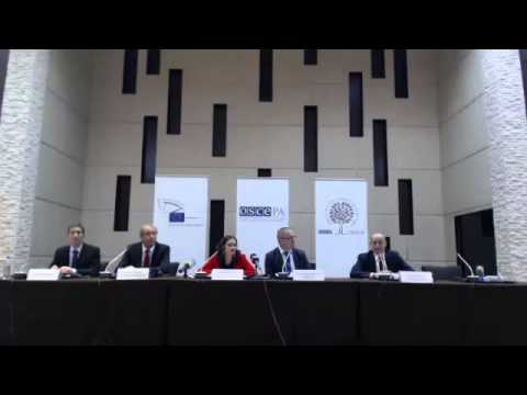 2015 Tajikistan (parliamentary) - post-election press conference