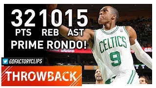 Throwback: Rajon Rondo Triple-Double Highlights vs Bulls (2012.02.12) - 32 Pts, 15 Ast, 10 Reb!