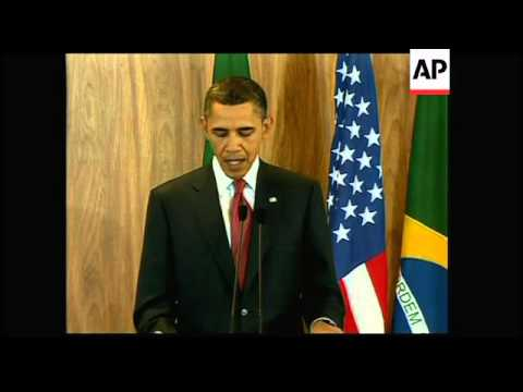 4:3 Obama and Rousseff joint presser, Libya sots