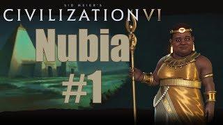 Civ 6 Let's Play - Nubia (Deity) - Episode 1