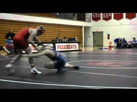 Gettysburg Wrestling - W&amp;J Quad Highlights 1/8/2011