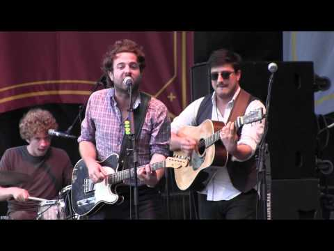 "Dawes feat Marcus Mumford ""When My Time Comes"" Mumford and Sons Dixon, IL Gentlemen of the Road Stopover."