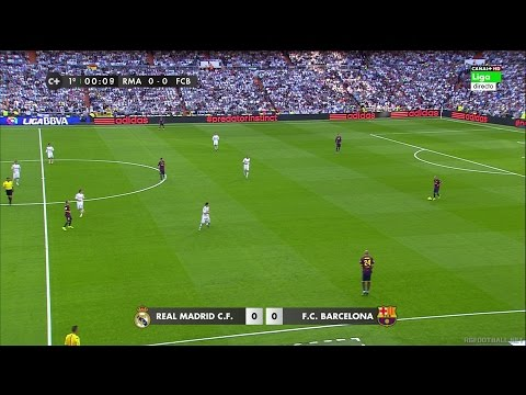 La Liga  Real Madrid vs Barcelona - FULL HD 1080i - Full Match - Spanish Commentary