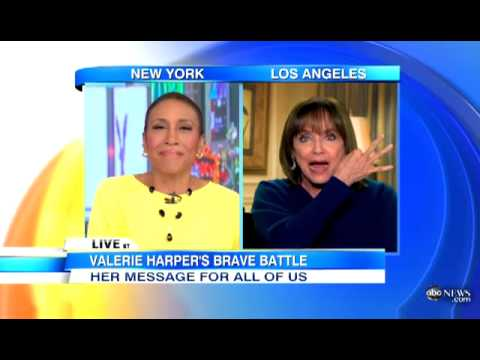 Valerie Harper Discusses CANCER Diagnosis on 'GMA' | Rhoda Star CANCER