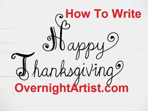 how to write thanksgiving letter