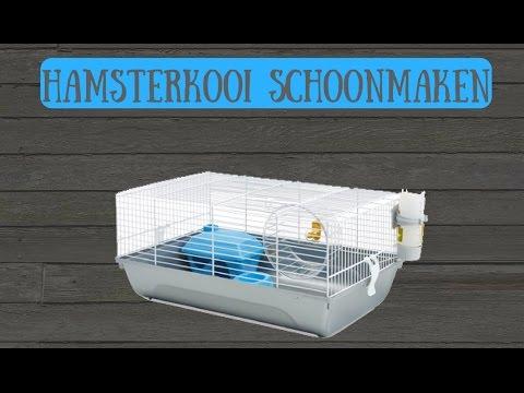 Hamsterkooi Schoonmaken Juulpets