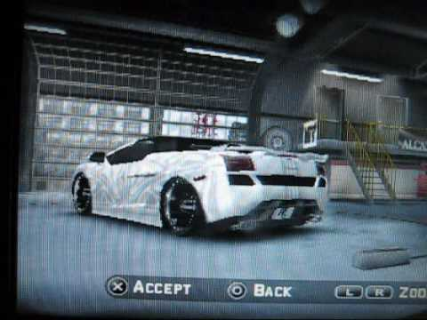Midnight Club LA REMIX [MY CUSTOM CARS]: PSP