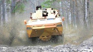 BAE Systems & Patria - AMV 35 8X8 Combat Reconnaissance Vehicle [1080p]