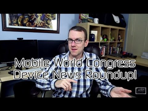 Mobile World Congress 2014 Announcements - Sony Xperia Z2, Samsung Galaxy S5 & More!