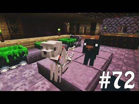 Minecraft Xbox - Sky Island Challenge - Slenderman Vs Leematoad!! [72]