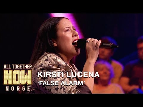 All Together Now Norge | Kirsti Lucena fremfører False Alarm av Matoma & Becky Hill | TVNorge