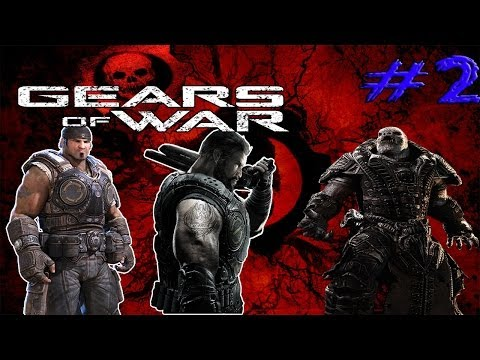 Let\'s Play Co-op Gears of War Episódio 2 - Destruindo os Locust ou loucos