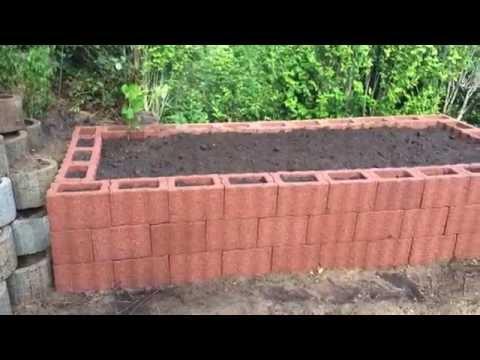 Mein Hochbeet, Selber Gebaut ! Mein Garten Teil 1