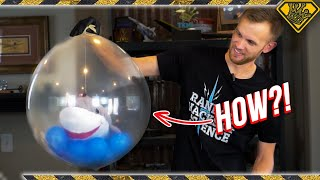 CRAZY WAY To Inflate Balloons by SUCKING