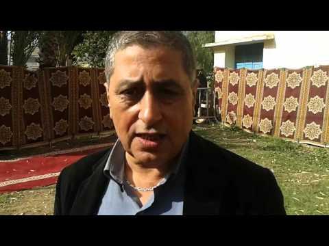الدكتور عزيز السعيدي يتحدث عن الحملة الطبية المنضمة باحد الدرى لمكرفون الشياظمة نيوز
