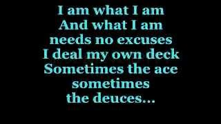 I AM WHAT I AM (Lyrics) - GLORIA GAYNOR