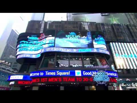 ''Let It Go'' (Elsa's song, from Frozen) on Good Morning America