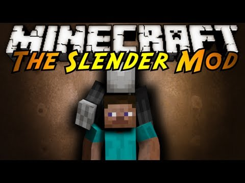 Minecraft Mod Showcase : SLENDER!