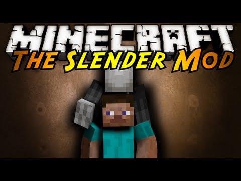 Minecraft Mod Showcase : SLENDER!