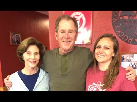 George W. Bush Tip Goes Viral