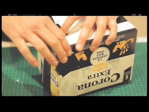 How to make a Pinhole Camera with Corona 6 Pack