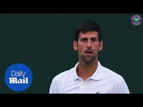 Wimbledon Day Six Highlights: Halep out Nadal and Djokovic advance - Daily Mail