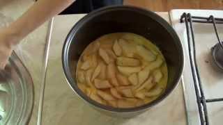Шарлотка или яблочный пирог в мультиварке Redmond, вкусно, просто, быстро