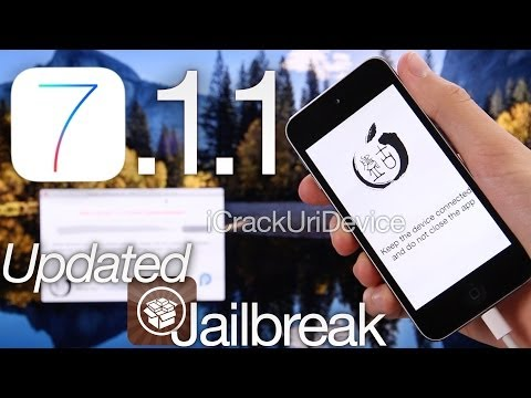 NEW Jailbreak 7.1.1 Untethered iOS Pangu 1.1.0 OS X. English Update iPhone 5S. 5C 4S. iPads & iPod 5