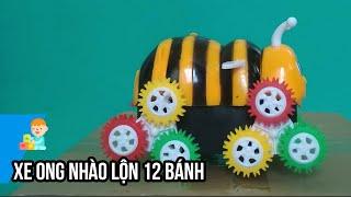 Trên tay Đồ Chơi Xe Ong Nhào Lộn 12 Bánh ♥ 25Enter ♥